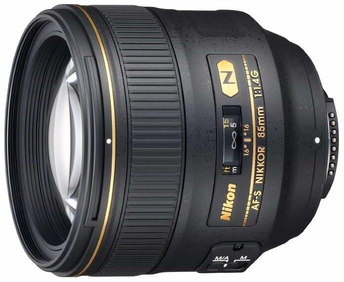 Nikon Nikkor 85mm f/1.4 best portrait lens