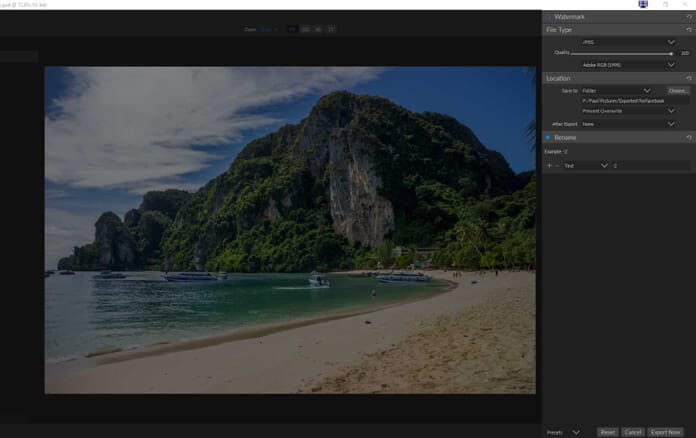 ON1 Resize 2018 Review - Exporting