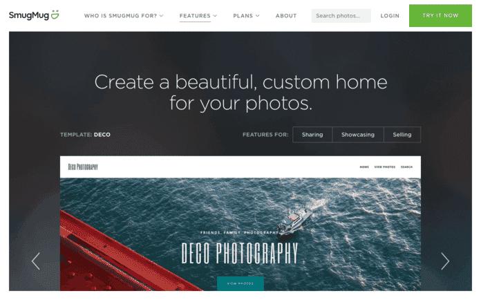 online photography portfolio