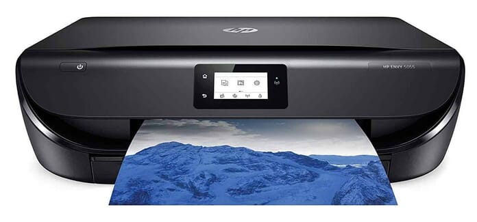 hp envy 5055 best photo printer under $200