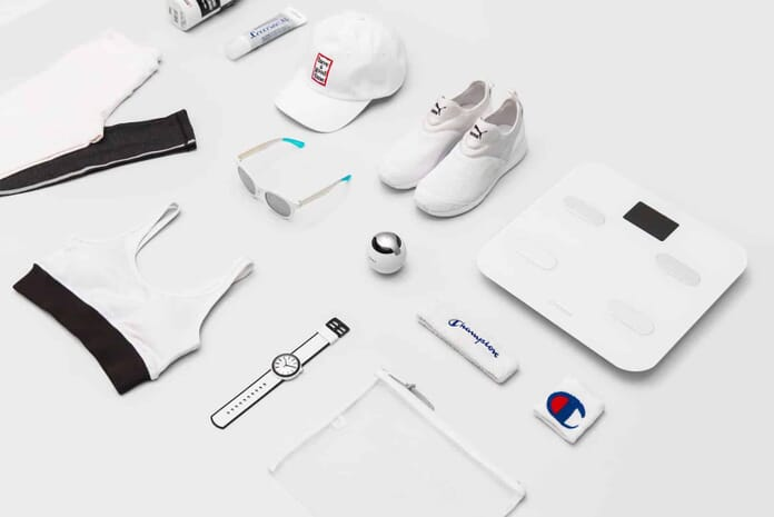 clothes flat lay