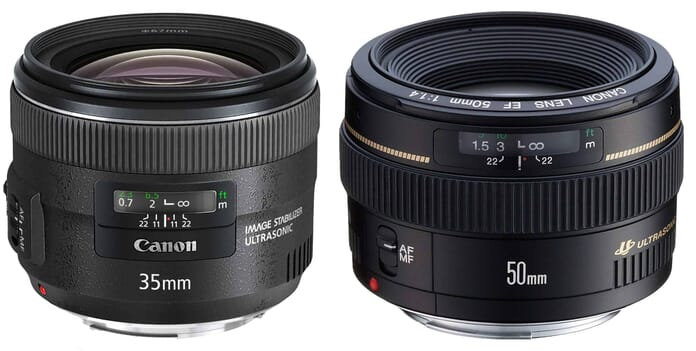 DSLR lenses for portraits