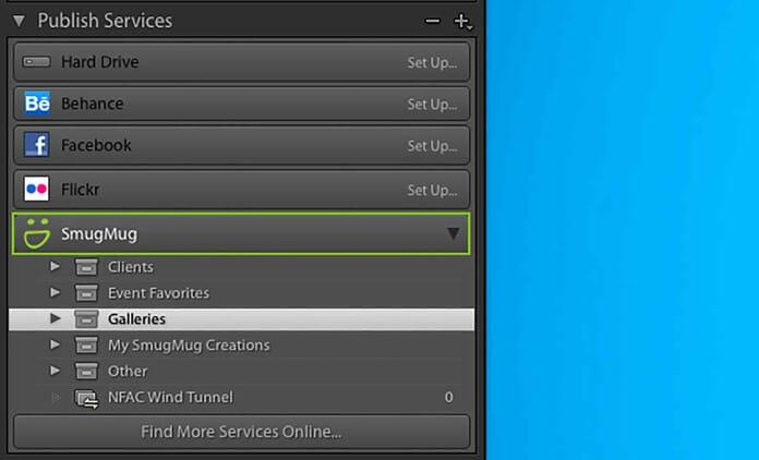 smugmug integration with Adobe Lightroom