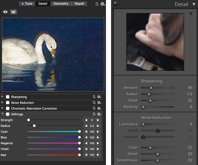 ACDSee Photo Studio Software Lightroom Compare Contrast