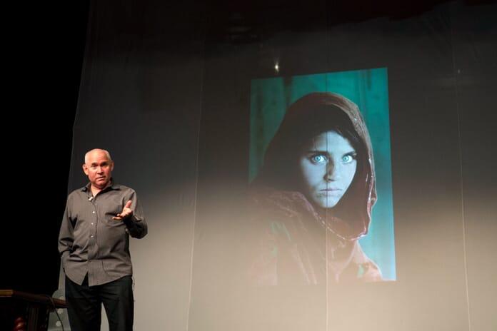 American photographer Steve McCurry