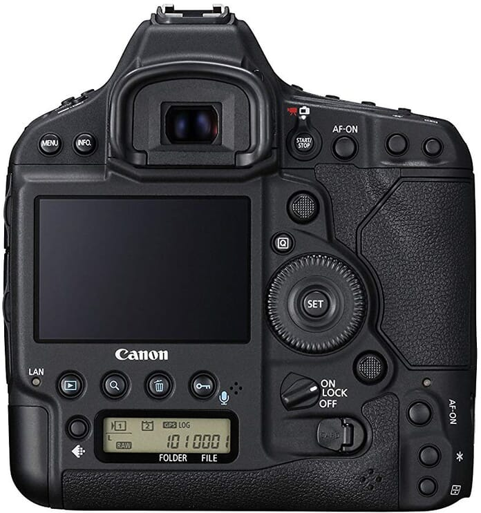 The Canon EOS 1DX Mark II