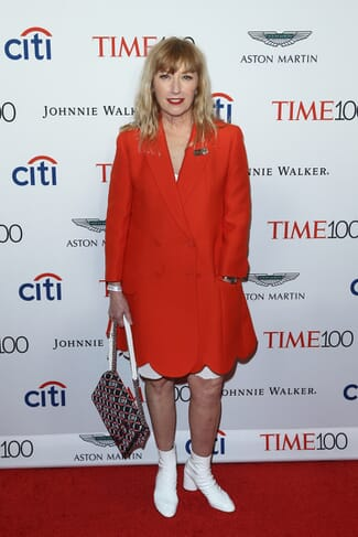 Cindy Sherman on the red carpet