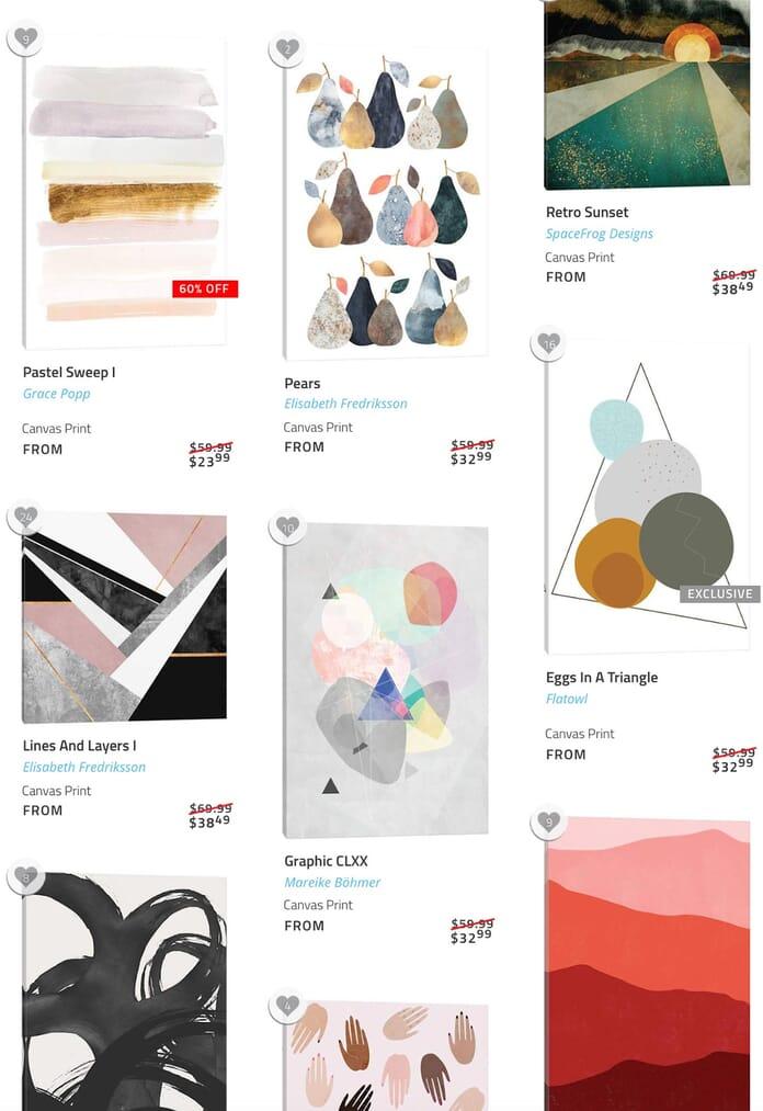 icanvas art selection