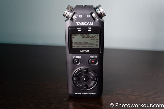 Tascam DR-05 review