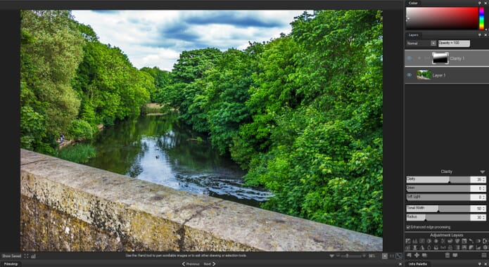 ACDSee Photo Studio Ultimate 2019 Review - Adjustment Layers