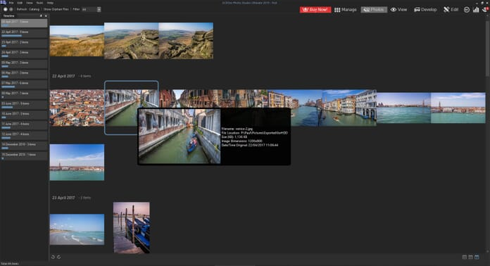 ACDSee Photo Studio Ultimate 2019 Review - details of image