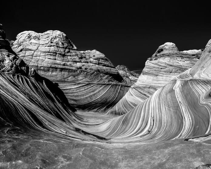 landscape photography monochrome