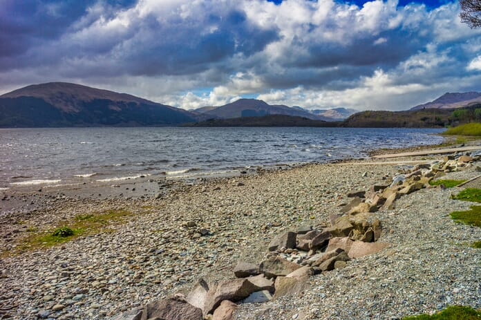 Loch Lomond - edited photo