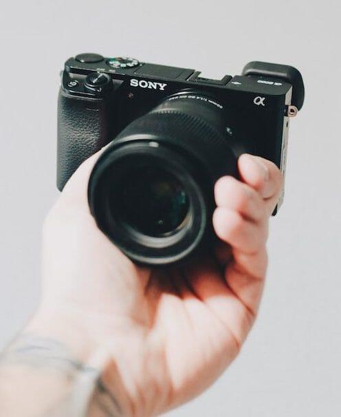 sony wide angle emount lens
