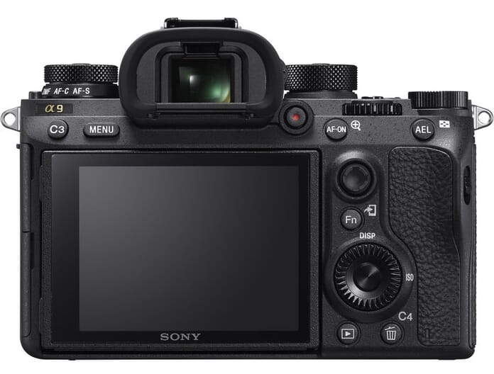 Sony Alpha a9 Rear View
