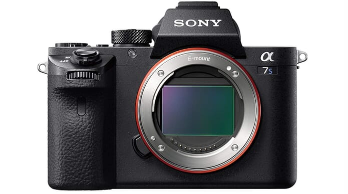 Sony Alpha a7S II front view