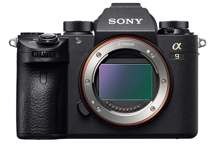 Sony Alpha a9 Front view