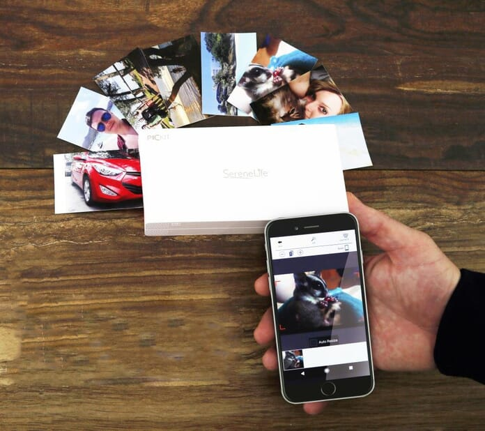 SereneLife Portable Photo Printer