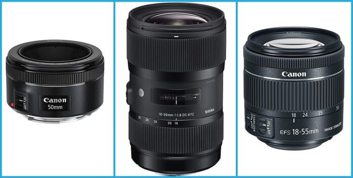Compatible DSLR Lenses