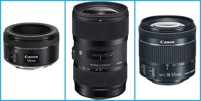 Compatible DSLR Lenses