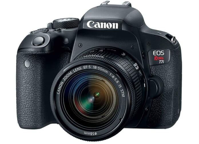 Canon EOS 7Ti Best Vlogging Camera