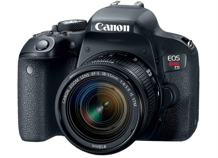 Canon EOS 7Ti Best Vlogging Camera
