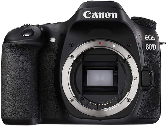 Canon EOS 80D Best Vlogging Camera