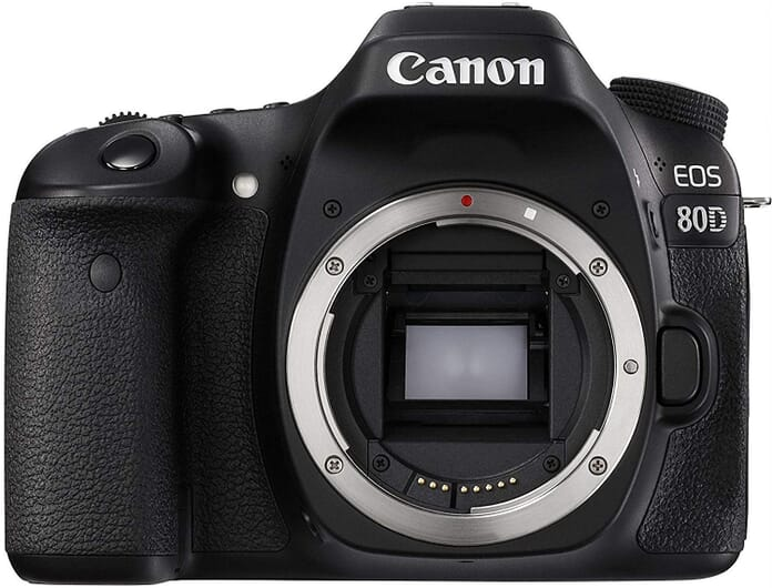 Canon EOS 80D Best Vlogging Camera