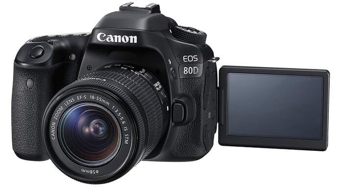 Canon EOS 80D Vari-Angle Screen