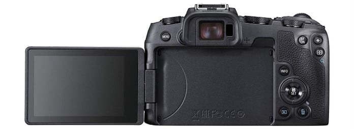 Canon EOS RP VariAngle Screen