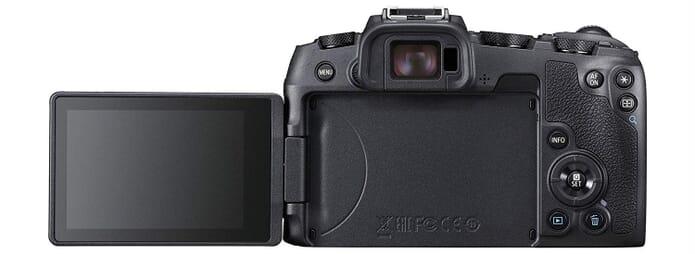 Canon EOS RP VariAngle Screen