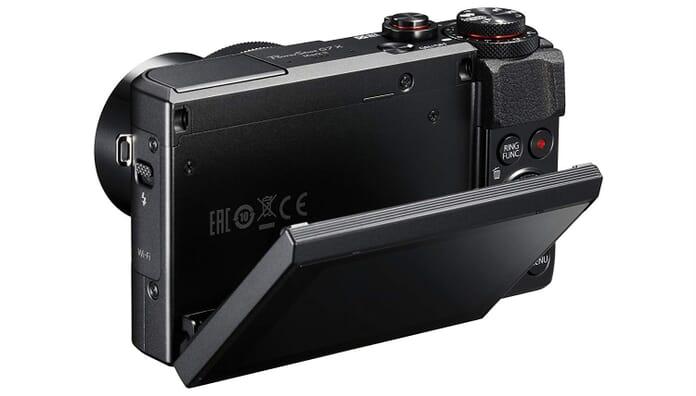 Canon G7X Rear View