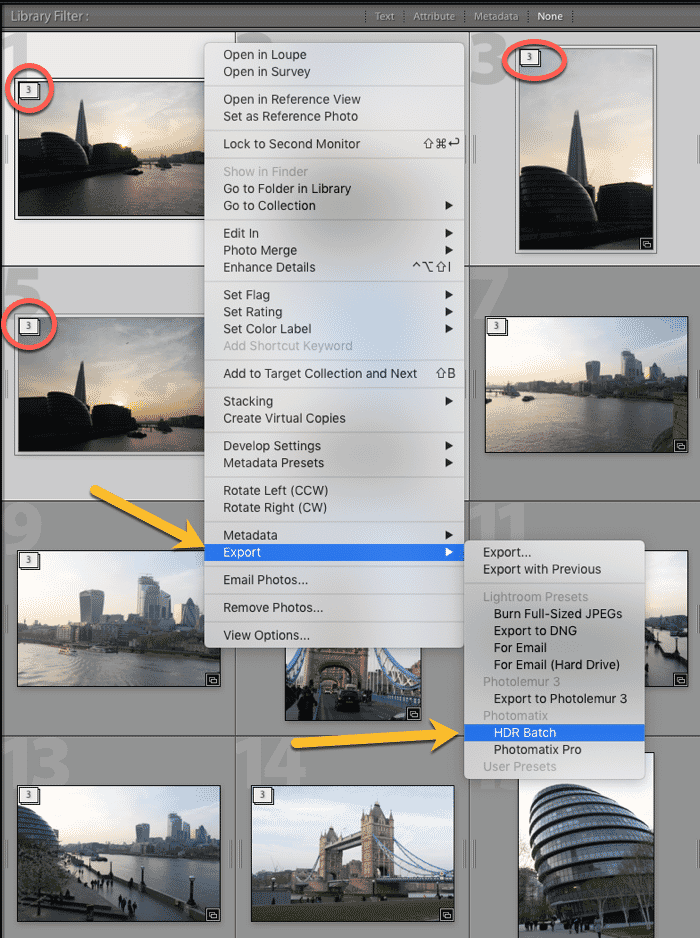 Photomatix HDR Batch Plugin Exporting Stacks for Processing