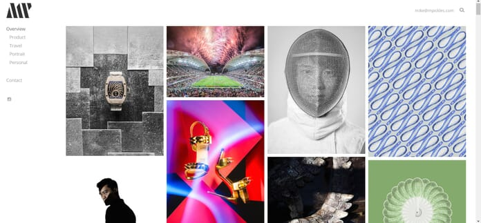 PhotoShelter sample site
