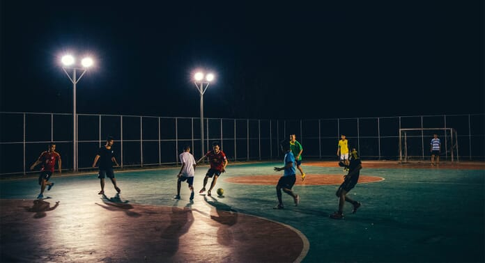 Sports photography in low light