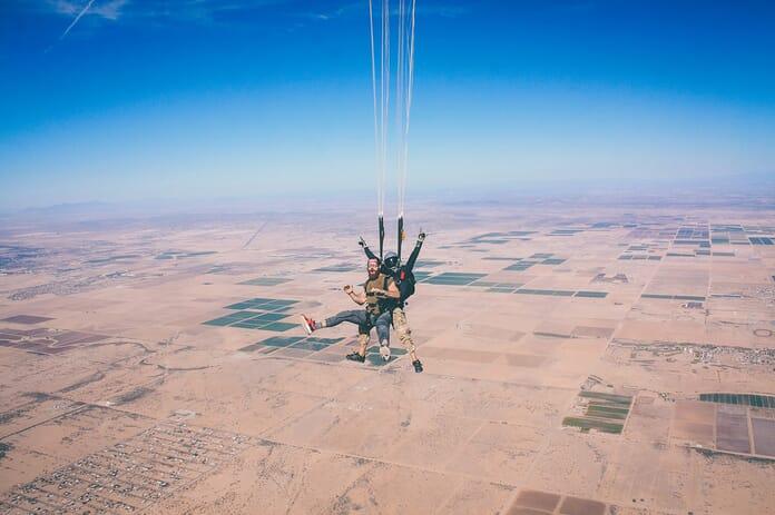 Best Skydiving cameras - Skydiving photo