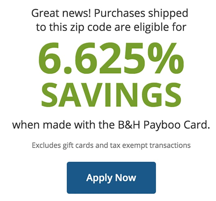 Payboo zip code savings calculator