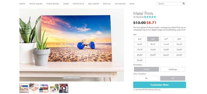 printing sizes metal prints how you print photos