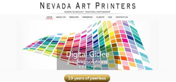 Nevada Art Printers acrylic print