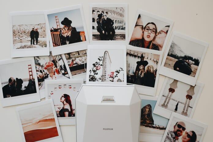 photos on wall how to print photos