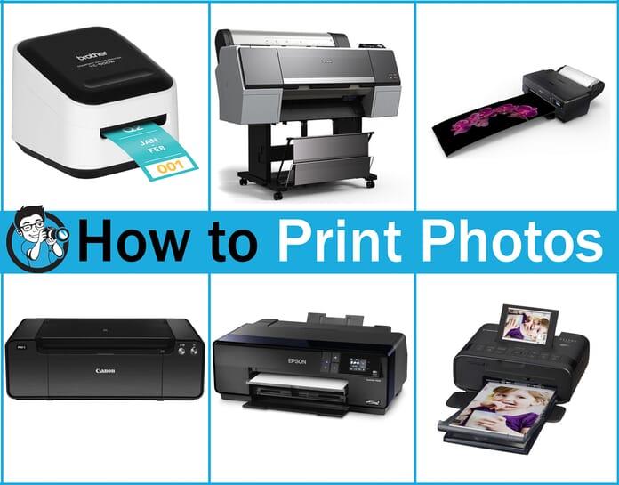 how to print photos