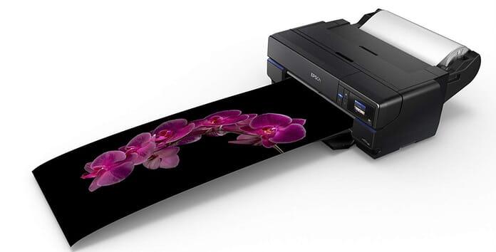 printer printing a photo