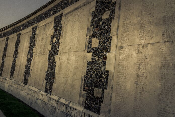 How to photograph memorials - Tyne Cot