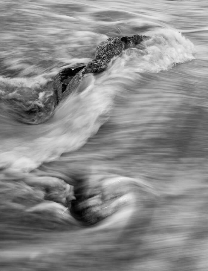 intimate landscape waves