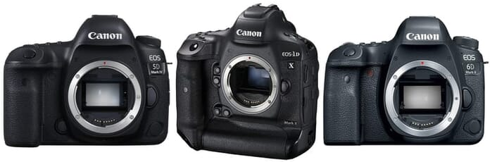 selection of cameras to learn photography