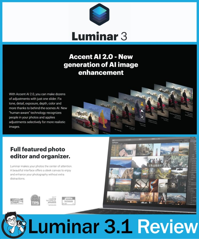 Luminar 3.1 Review Overview