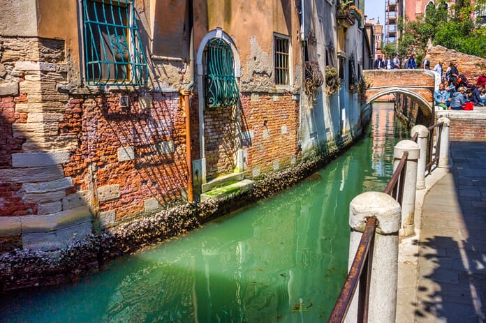 Edited photo from Venice using Accent AI