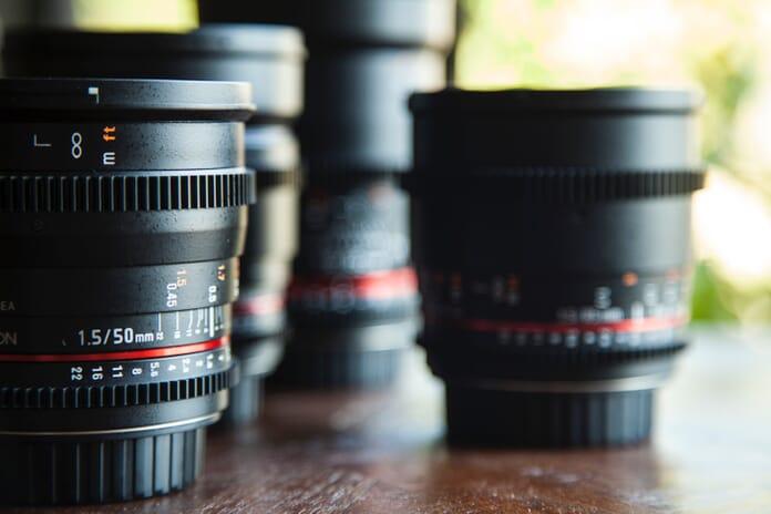 photography gear lenses