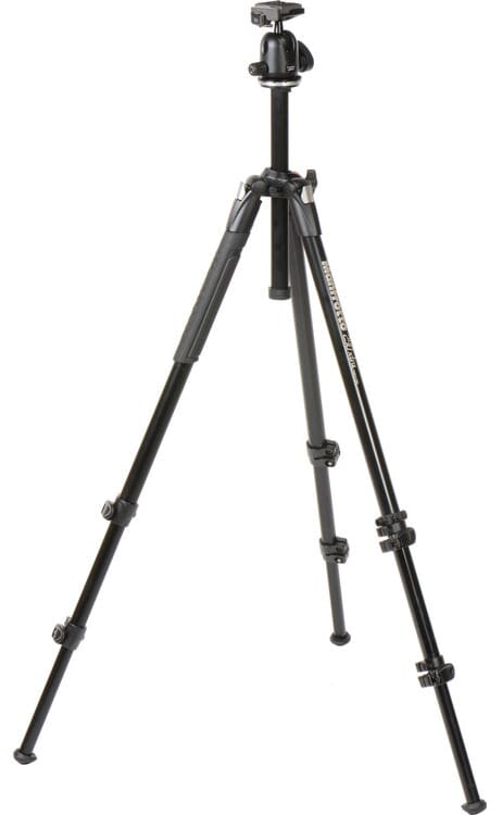 tripod fully extended