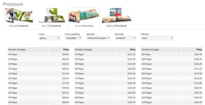 Saal Standard Pricing